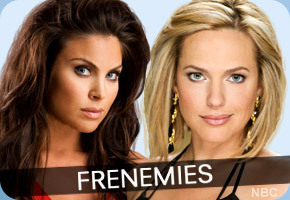 Days of Our Lives wallpaper containing a portrait titled Nicole & Chloe: Frenemies