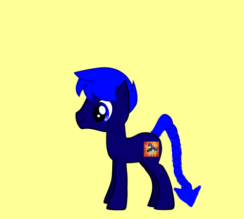 Nightcrawler pony