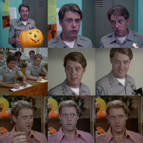 Paul Linke as Grossman in CHiPs Trick या Treat