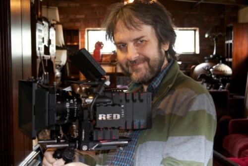 Peter Jackson shooting The Hobbit