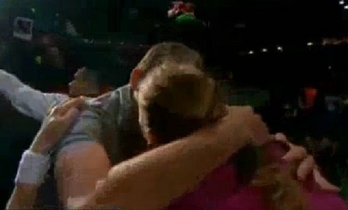 Petra Kvitova KISS with Adam Pavlasek