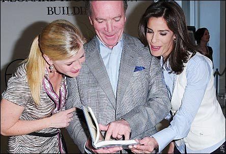 Alison Sweeney, Ken Corday, and Kristian Alfonso