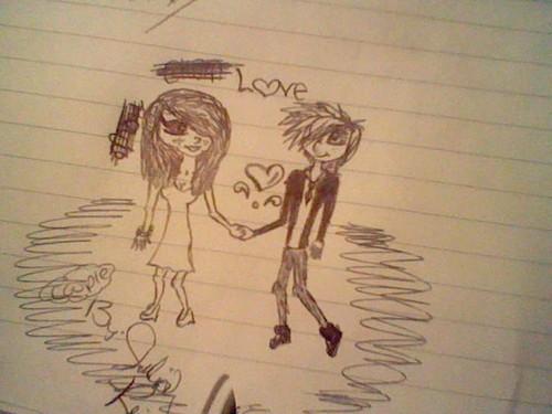 Picture my Best Buddy drew