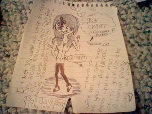 Picture my Best friend drew