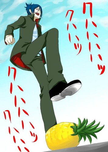 Pineapple stomping