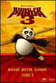 Poster of Kung Fu Panda 3 - dreamworks-animation photo