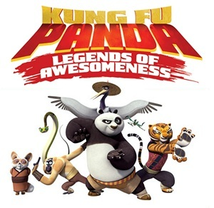 Poster of series Kung Fu Panda: Legends of Awesomeness