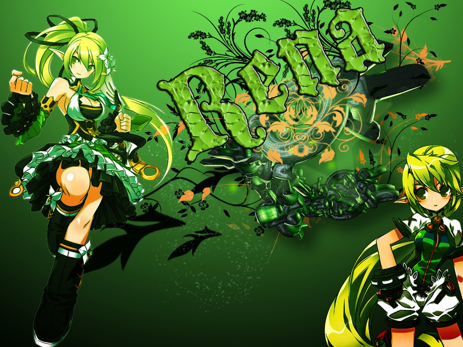 Google themes elsword - Elsword Images Rena Wallpaper 01 Hd Wallpaper And Background Photos
