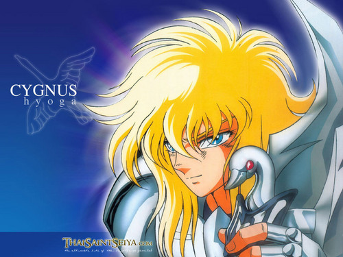 anime fondo de pantalla with anime entitled Hyoga, Knight of the Cygnus