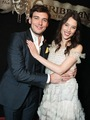 Sam and Astrid hugging - astrid-berges-frisbey photo