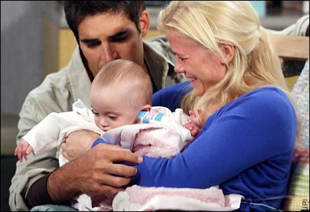 Days of Our Lives wallpaper containing a neonate and a milk titled Sami & Rafe