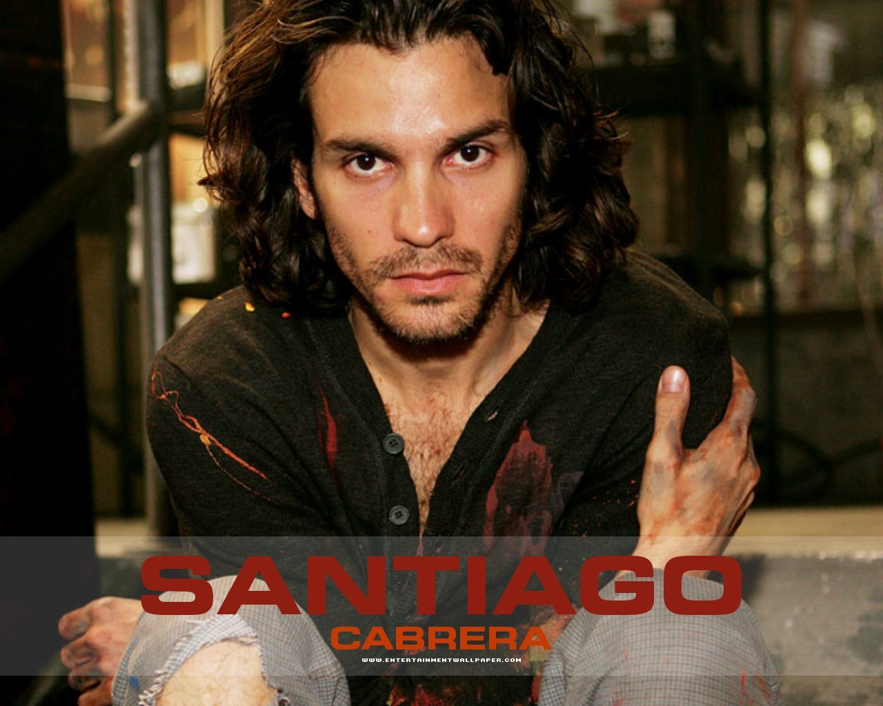 santiago cabrera child
