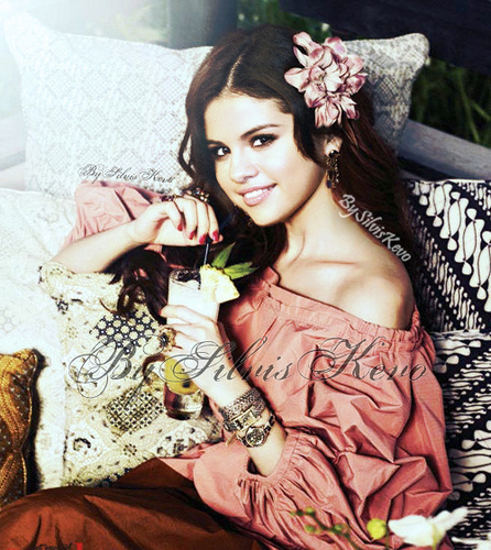 Selena Gomez wallpaper with a bouquet and a bridesmaid entitled Selena G.