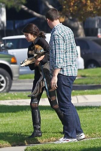 Selena - Walking Baylor - October 31, 2011