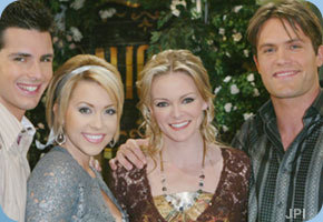 Days of Our Lives hình nền with a bridesmaid called Shawn, Mimi, Philip, & Belle