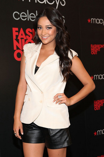 Shay at Fashion's Night Out
