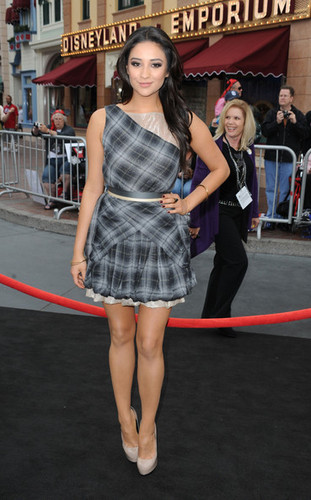 Shay at premiere of Pirates of the Caribian