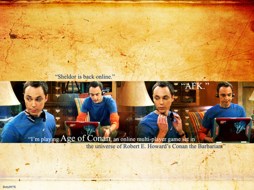 The Big Bang Theory wallpaper possibly containing a sign called Sheldon Cooper - Wallpaper