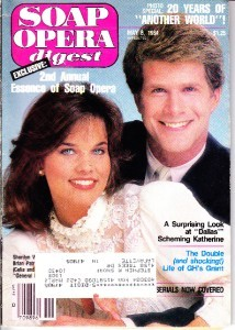 Sherilyn Wolter and Brian Patrick Clarke