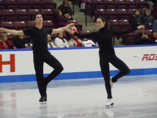 patim, skate Canada 2011 - Practice
