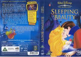 Sleeping Beauty dvd Cover with Maleficent