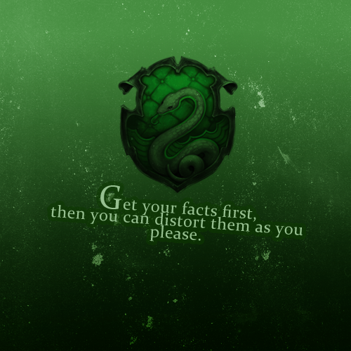 Slytherin Harry Potter Photo 26498262 Fanpop