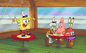 Spongebob picspam - 크리스마스 Who-
