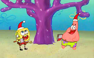 Spongebob Squarepants wallpaper called Spongebob picspam - Christmas Who-