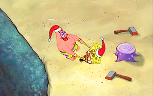 Spongebob picspam - Рождество Who-