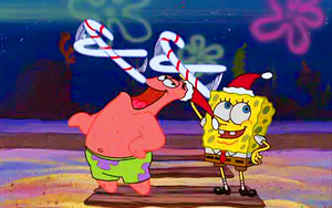 Spongebob picspam - Christmas Who-