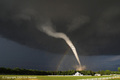 TORNADO WITH RAINBOW - storm-chasers photo