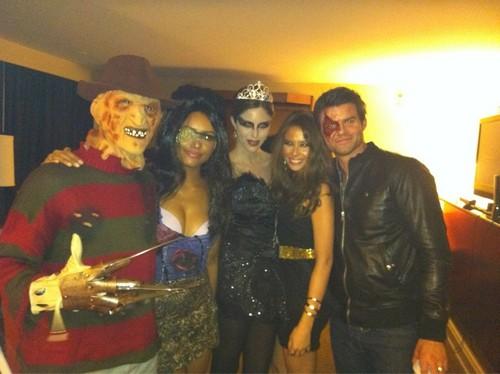 TVD Cast Dia das bruxas Costumes