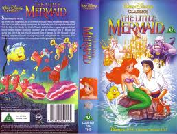 The Little Mermaid VHS Cover with Ursula