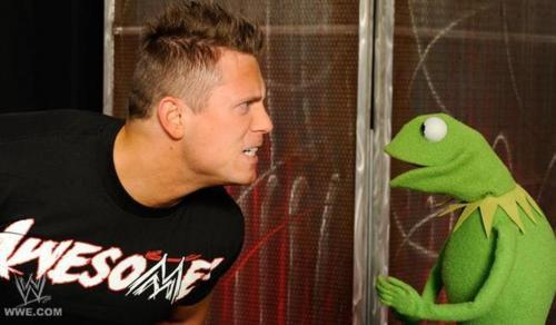 The Miz and Kermit the Frog