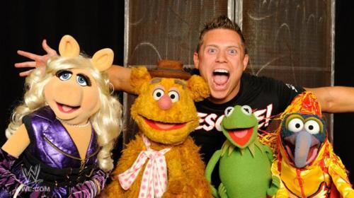 The Miz with The Muppets