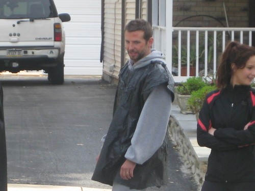 The Silver Linings Playbook - On set (October 26, 2011)