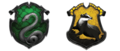 The final crests of Hufflepuff and Slytherinn (on pottermore)  - hogwarts-house-rivalry photo
