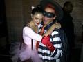 Thomas (with Pheobe Tonkin) as the Hamburglar Halloween 2011