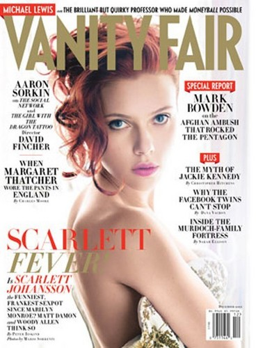 Scarlett Johansson wallpaper containing a portrait titled Vanity Fair Photoshoot