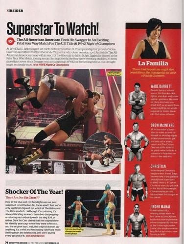 ডবলুডবলুই Magazine-December 2011