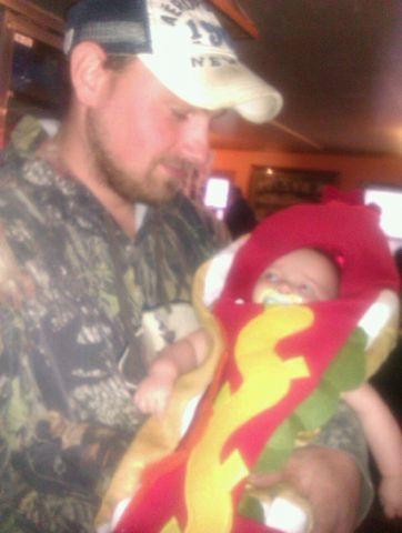 Walker aka Hotdog on a bun ^___^