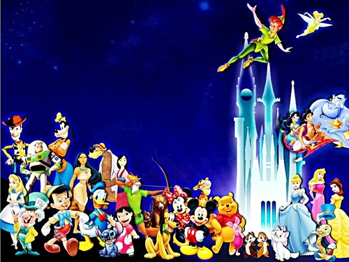 personaggi Disney wallpaper probably with Anime entitled Walt Disney wallpaper - Walt Disney Characters