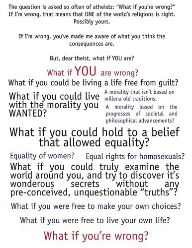 What If You're Wrong?
