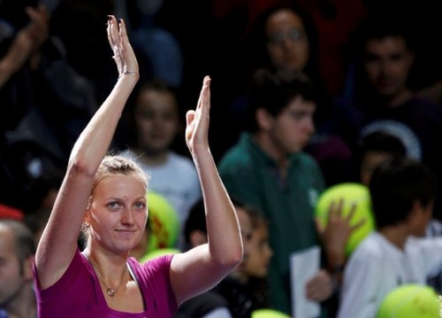 jaar Kvitova. After she won Wimbledon ,she won also Tournament Champions