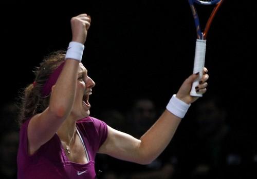 سال Kvitova. After she won Wimbledon ,she won also Tournament Champions