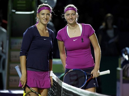年 Kvitova. After she won Wimbledon ,she won also Tournament Champions