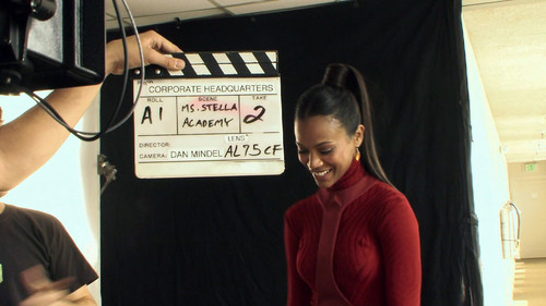 Zoë Saldaña as Uhura