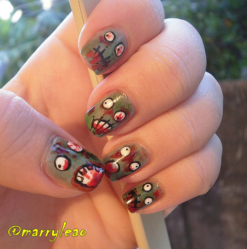 Zombies wallpaper entitled Zombie Nails