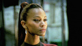 behind the scenes - zoe-saldana-as-uhura photo