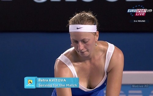 kvitova breast......